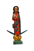 virgen maria, virgin mary wooden statue, guatemala