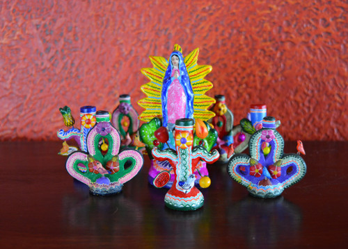 Folk art colorful home decor