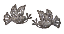 Ornamental Birds, haitian metal art
