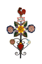 Peruvian Cross, Folk Art, Wall Collection