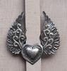 Metal Haitian Heart
