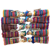 Worry dolls are small, mostly hand-made dolls that originate from Guatemala and Mexico