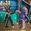 Devil  whimsical bar tending Mexican ceramics