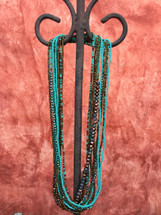 south western style beaded necklace Guatemala