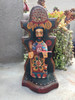 "St. Joseph, Religious Saint, Artisan Crafted Wooden Saints 3.5"" x 3"" x 7.5"""