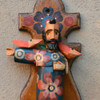 hand carved with a machete in Guatemala Saint Francis