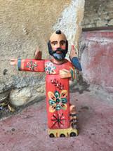 hand carved saint guatemala Guatemalan Santo