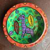 giraffe orange and green bowl
