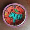 purple jaguar bowl hand carved guatemala