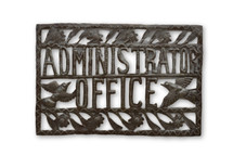 Administrators Office, Sustainable, Haiti, Eco-Friendly, Limited Edition, One-of-a-Kind, Fair Trade