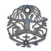 Voodoo Woman, Haitian Metal, Religious Decor, Haiti, Superstitious Sculpture, Fair Trade, One-of-a-Kind, Limited Edition