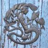Mermaid, Fish, Sea Life, Sea Creatures, Art, Ocean, Nautical, Beach, Home, Decor, Art, Sculpture, Sustainable, Eco-Friendly, Unique, Handmade, Craftsmanship, Handcrafted, Limited Edition, Little Mermaid,