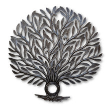 Leafs, Tree of Life, Tree Decor, Branches, One-of-a-Kind, Winter Home Decor, Indoor Home Decor, Living Room, Housewarming Gift, Farmhouse Art, Sculpture, Handcrafted, Handmade, Fair Trade, Help Haiti Fight Poverty