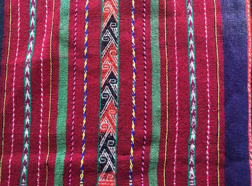 Vintage, Ethnic Textile, Bolivia, Bolivian, Central America, Southern America Art