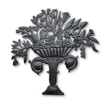 Flower Bouquet, Flowers, Plants, Foliage, One-of-a-Kind, Limited Edition, Sustainable, Eco-Friendly, Haitian, Haitian Metal, Sustainable, Eco-Friendly, Handcrafted, Handmade
