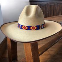 HATBANDS, COW BOY HATS, BEADED, HANDMADE, GUATEMALA 6