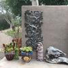 "Small Tree of Life, Ornamental Birds,Haiti Metal Art, Hand Hammered Steel, Garden Art, Recycled Home Decor 12"" x 22"""