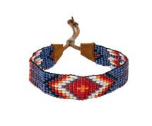 Handmade bracelets from Guatemala This beaded bracelets were created by a master bead artist in Santiago la Laguna,