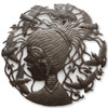 Birds,  Bird Watching, Little Girl, Woman, One-of-a-Kind, Limited Edition, Sustainable, Eco-Friendly, Recycle, Recyclable, Steel, Metal, Farmhouse, Fair Trade, Haiti, Haitian Art, Sculpture