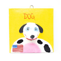 United States, US of A, USA Flag, One-of-a-Kind, Dog, Perro