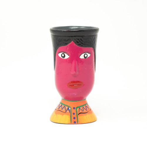 Huipil, Guatemalan, Folk Art, One-of-a-Kind, Limited Edition, Orange, Nahuatl,