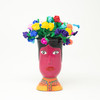 Home Decor, Office Decor, Flowers, Vase, Interior Design, Hand Painted, Handmade, Handcrafted