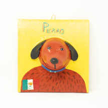 Dog Plaque, Ortega Ceramics, Mexico, Viva Mexico, Hecho en Mexico, Made in Mexico