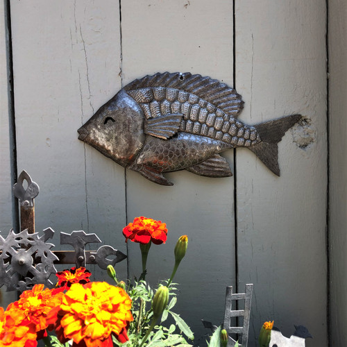 metal wall art with nautical theme Haiti