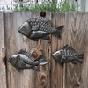 Haiti metal wall art , School of Fish