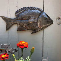 Haiti metal wall art sea life theme fish nautical