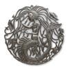 Mermaids, Starfish, Sea Life, Beach Decor, Fish, Sea Turtle, One-of-a-Kind, Limited Edition, Recycle, Recyclable, Mystical Creature, Haiti, Haitian Art