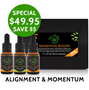 Save on Momentum Builder Flower Essence Kit, containing Dragon Slayer, Baggage Buster and Pure Potential