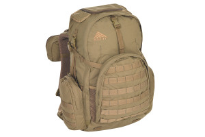Kelty Raven 2500 backpack, Coyote Brown, front view