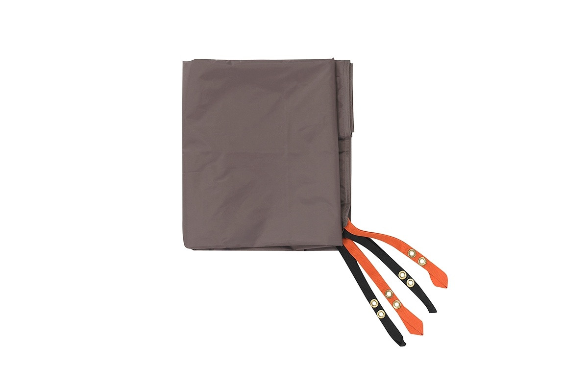 Kelty Yellowstone 2 Footprint, taupe, with orange and black attachment points