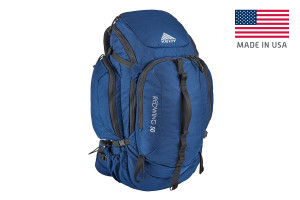 Kelty Redwing 50 USA backpack, Indigo Blue, front view