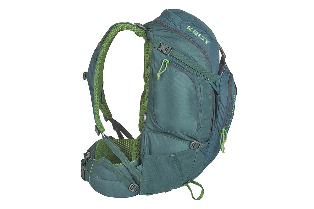 Kelty Redwing 44 backpack, Ponderosa Pine, side view