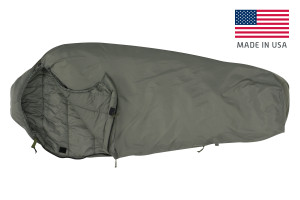 Kelty VariCom Delta 30 USA sleeping bag, unzipped quarter length