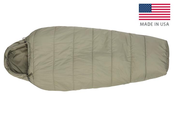 Kelty VariCom Gamma USA  sleeping bag, shown fully zipped