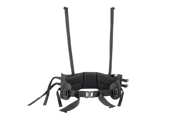 Kelty external frame backpacks.