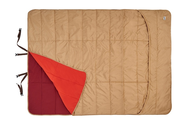 Kelty Shindig Blanket, Canyon Brown, top view