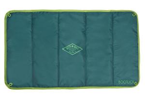 Kelty Bootlick doormat, green colorway, top view