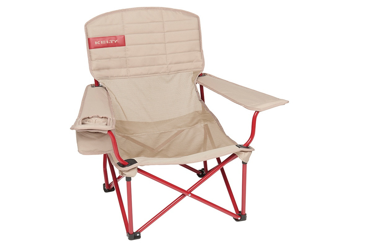 Kelty Mesh Lowdown Chair - Prior Model Year, Tundra, front view