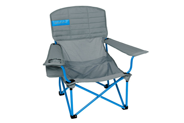 Kelty Mesh Lowdown Chair - Prior Model Year, Smoke, front view