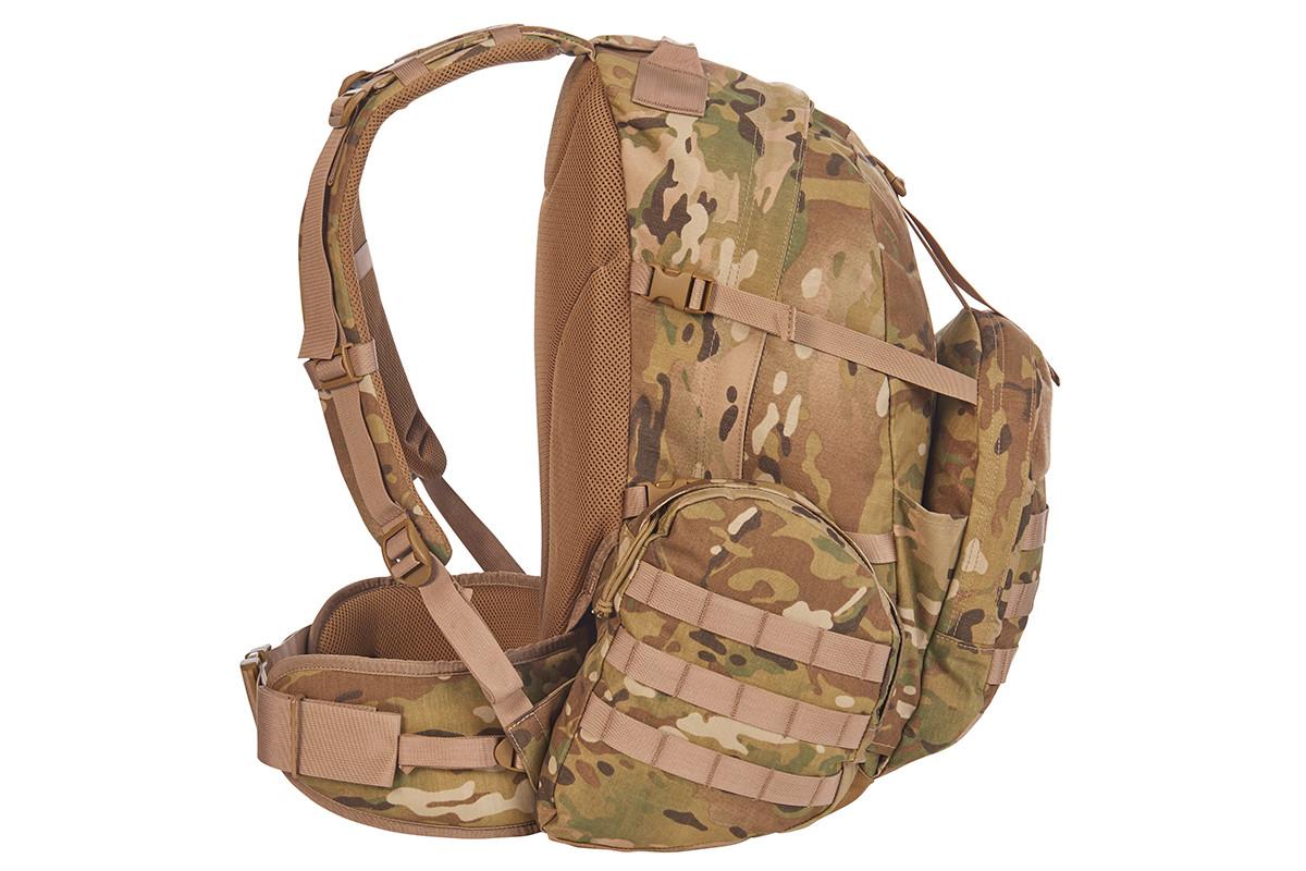 Strike 2300 backpack, multicam, side view
