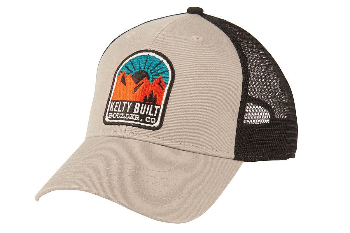 Kelty Built Sunset Trucker Camp Hiking Hat  4f19fee106b