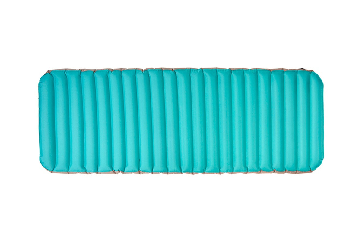 Kelty Tru.Comfort Camp Bed Single, turquoise, top view