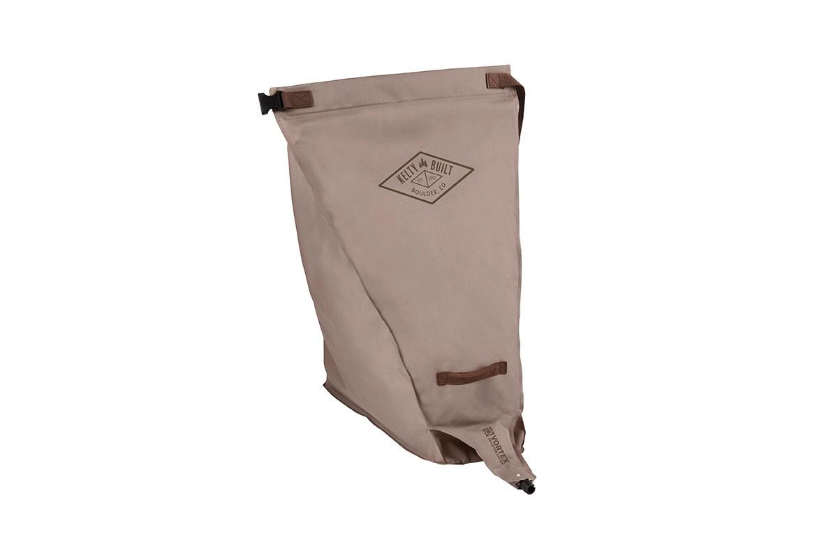 Tan pump bag for Kelty Tru.Comfort Camp Bed Single