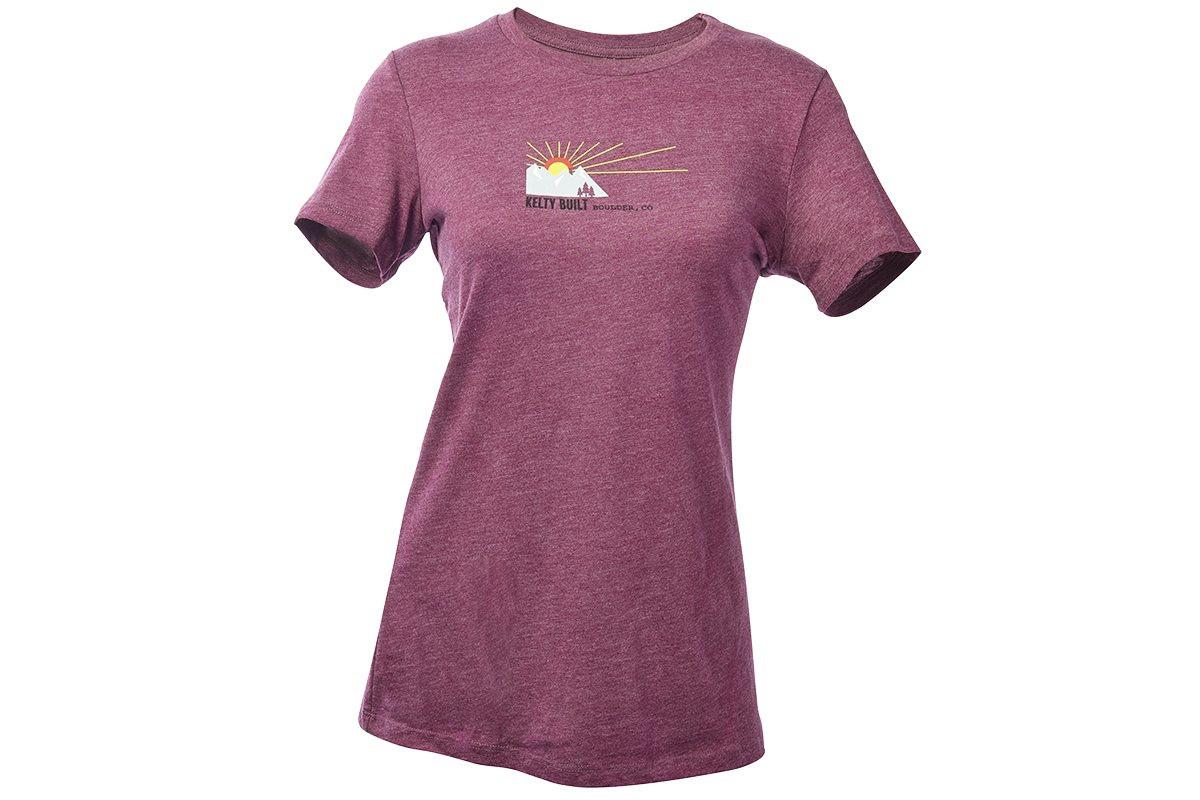 Sunset Kelty Modieus shirt Built Dames T SzpLqMVUG