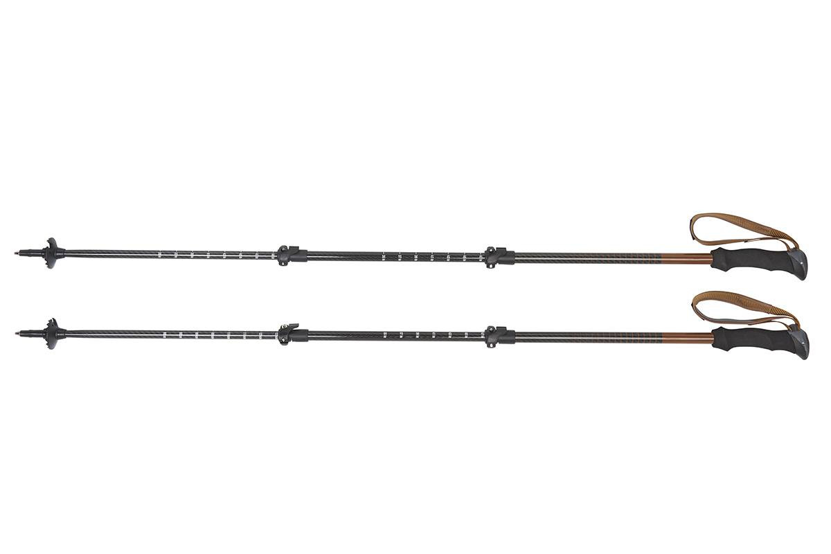 Kelty Cirque trekking poles, black, set of 2, shown fully extended