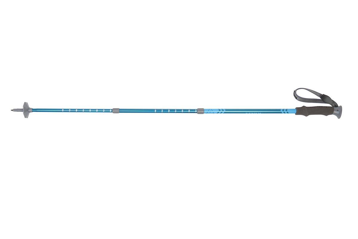 Kelty Upslope 1.0 trekking pole, blue, shown fully extended